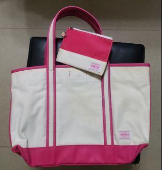 Porter Tokyo Japan Tote Bag vintage