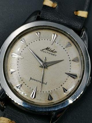 古董 Mido multifort 自動上弦手錶