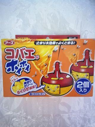 日本earth製藥捕蠅餌劑2個