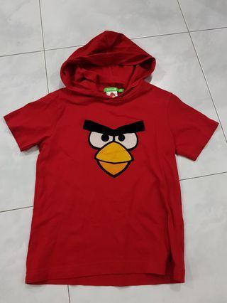 Bossini Angry Bird T-shirt with hood