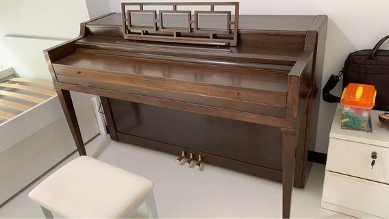 Unique Antique Piano