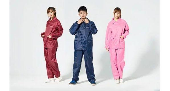 双龍 twin dragon 高質感雨衣褲