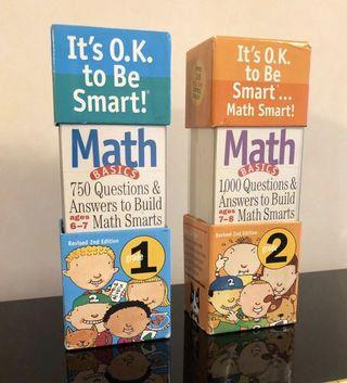 Brain Quest Maths Basics. Grade 1 & 2
