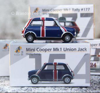 TINY - #154 Mini Cooper MK1 Union Jack