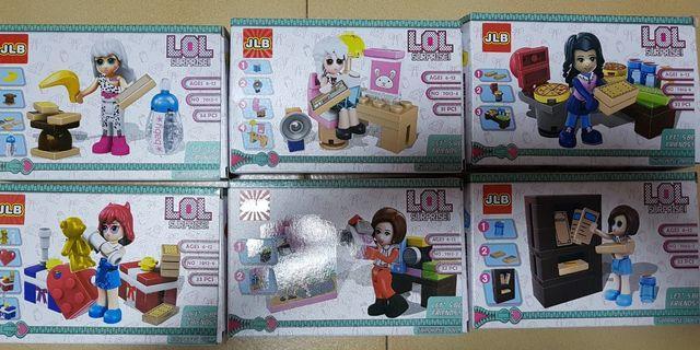 LOL Surprise Lego 31pcs to 34pcs (Per Box)