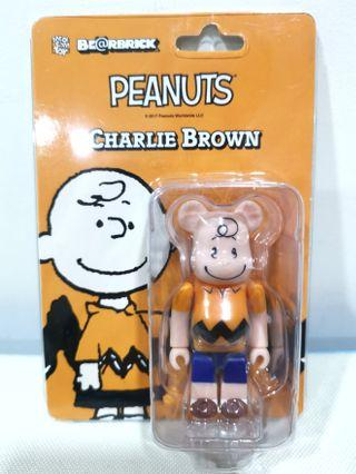 Be@rbrick Peanuts Charlie Brown 100% Bearbrick