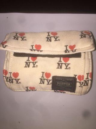 porter yoshida x Beams I ❤️ NY purse