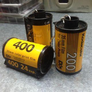 FILM CANISTER KEYCHAIN