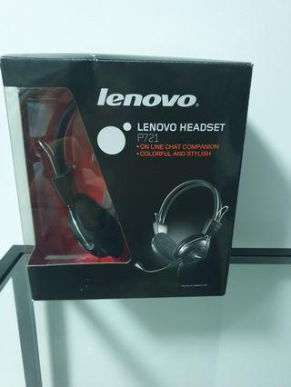 🚚 P721 Lenovo Headset with microphone