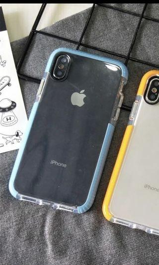 Blue iPhone XS case