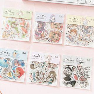 [ PO ] Anime Sticker Flake Packs