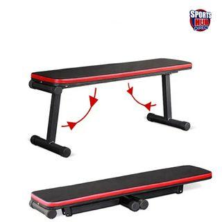 🚚 Foldable Portable Gym Bench - Both Flat and Decline Positions