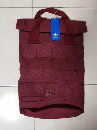 [URGENTLY SELLING]BNWT original limited edition Maroon Adidas Issey Miyake Bag