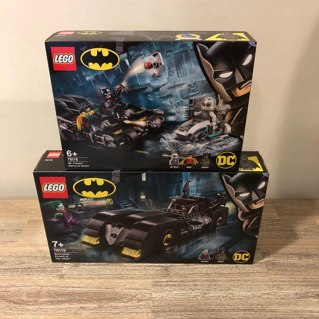 2 sets) MISB Lego 76118 76119 Batman Bundle, Toys & Games