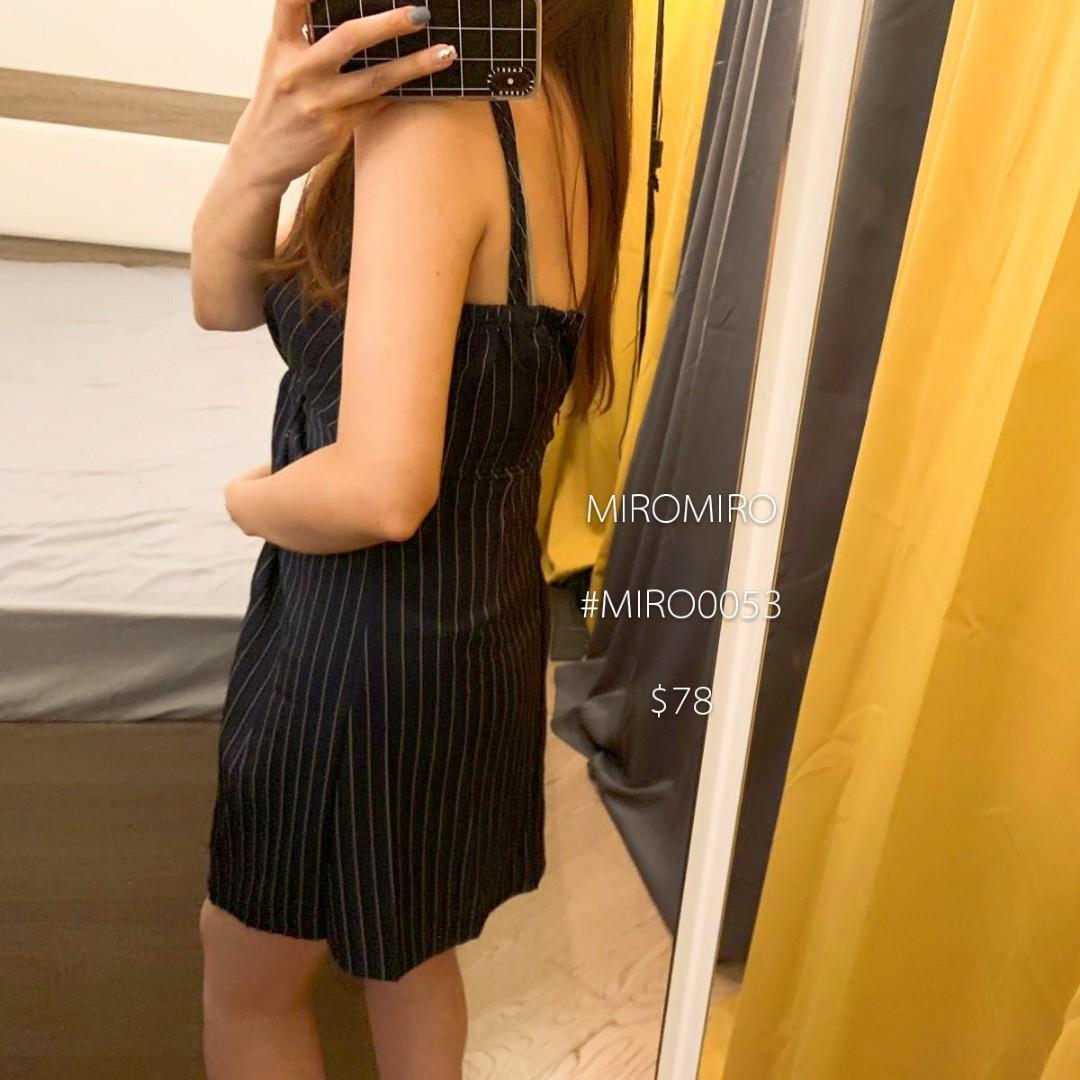 修腰連身裙