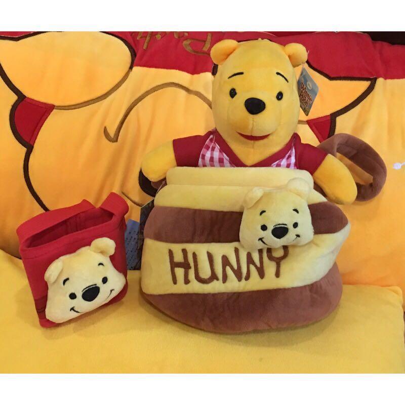 「現貨」小熊維尼 威秀限量 爆米花袋 全新 正版 迪士尼 玩偶 娃娃