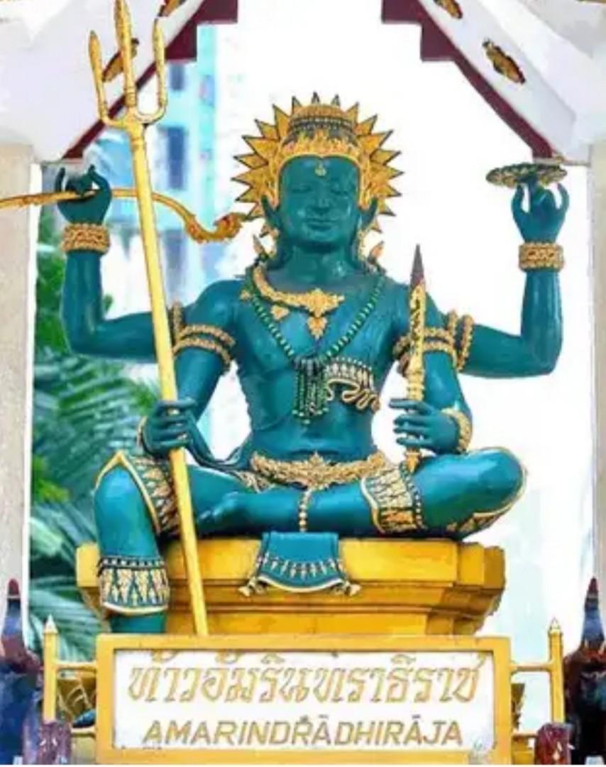 帕因 因陀羅  擁有無數的財富 雷雨之神——因陀羅(Indra)