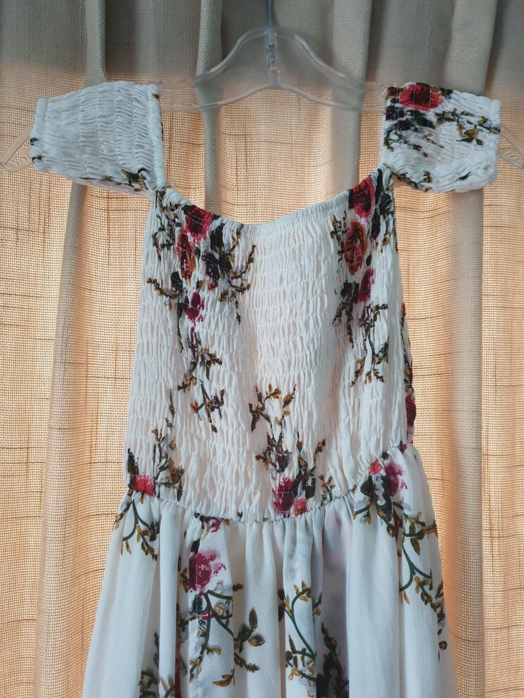 ☆ Floral Off- Shoulder Dress ☆