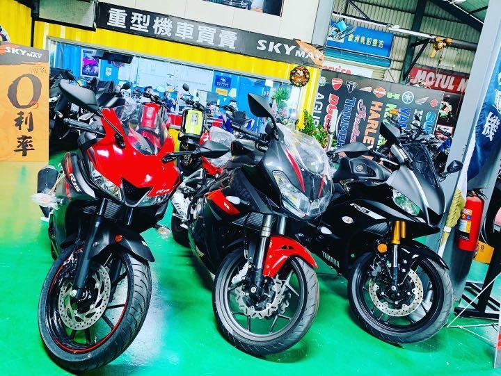 全新重機販售 R15V3,Benelli 302R,R3 ,GSXS150,FZS150 重機販售