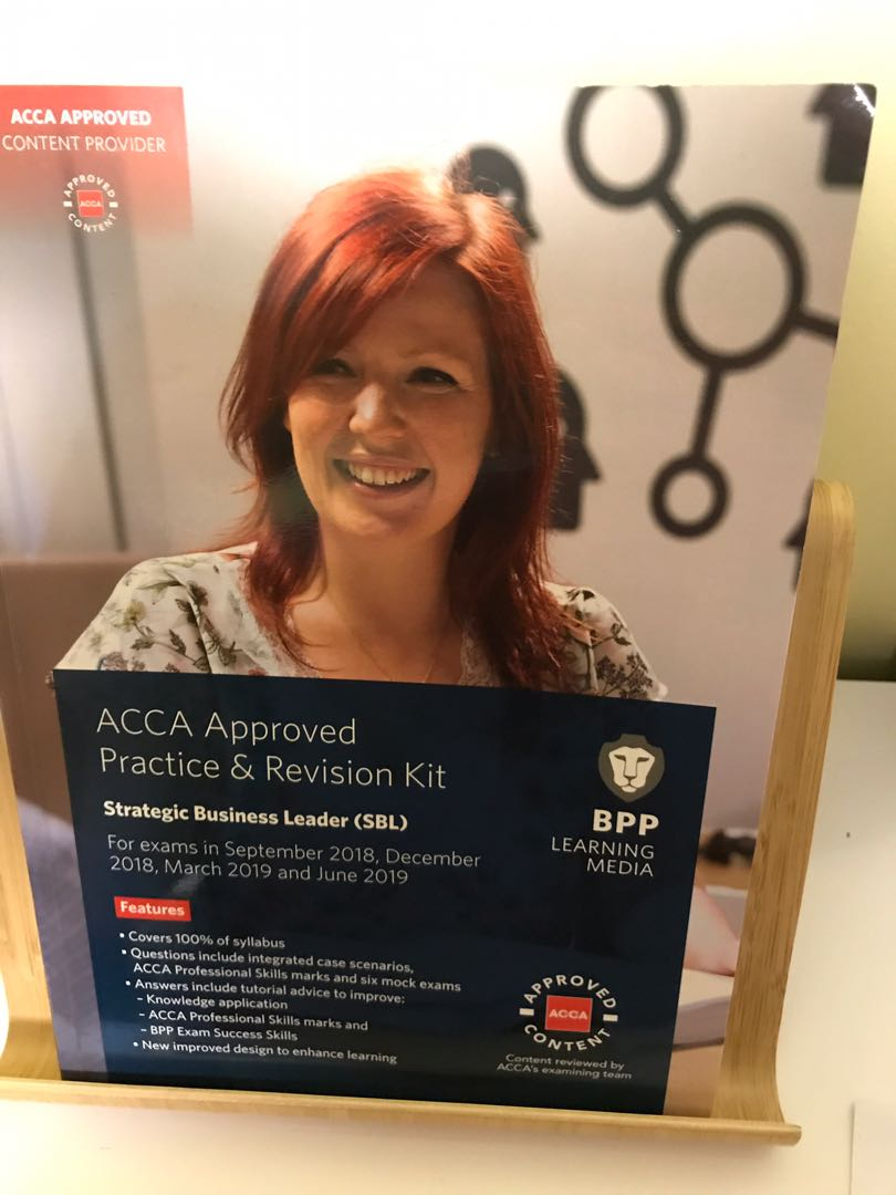 ACCA Approved Practice & Revision Kit - Strategic Business Leader (SBL)