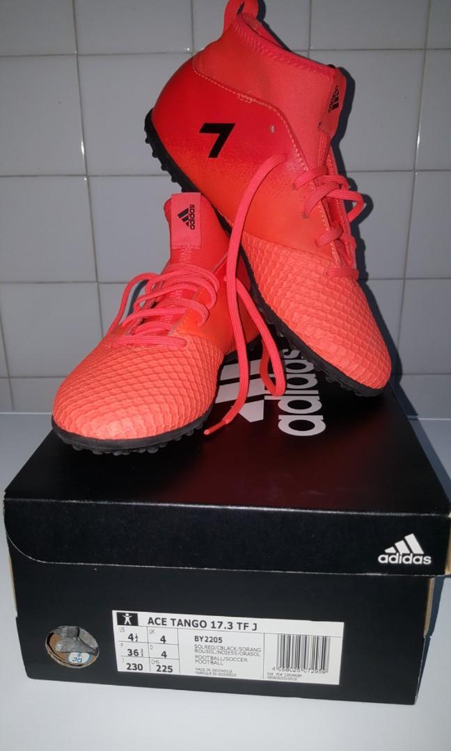 free shipping 7b423 295ec Adidas Ace Tango 17.3 TF J Artificial grass Futsal boots on ...