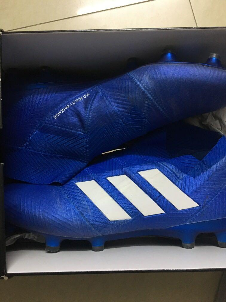 Adidas波boot nemeziz 18+ size 42.5