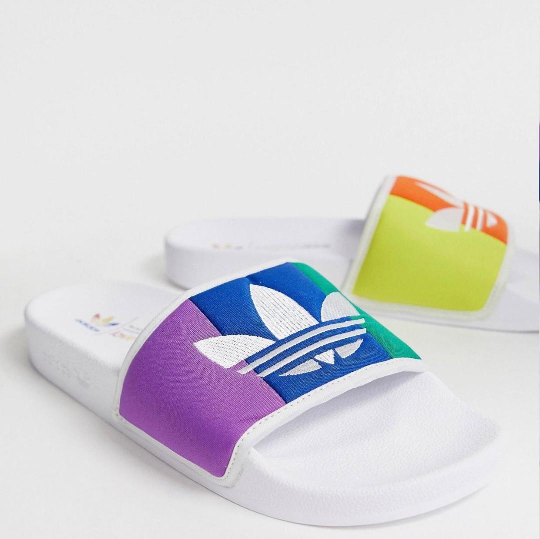Adidas Originals Adilette Pride Sliders
