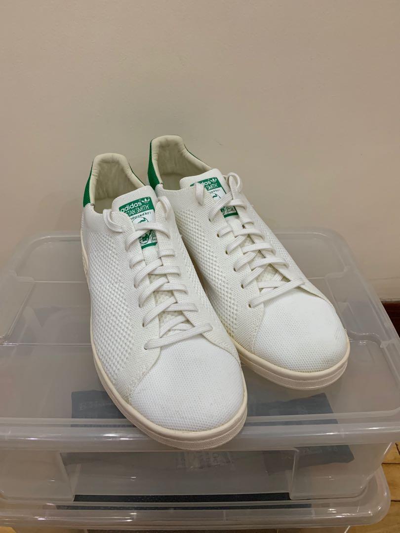 68f6edc3742b3 Adidas Stan Smith Primeknit White, Men's Fashion, Men's Footwear ...