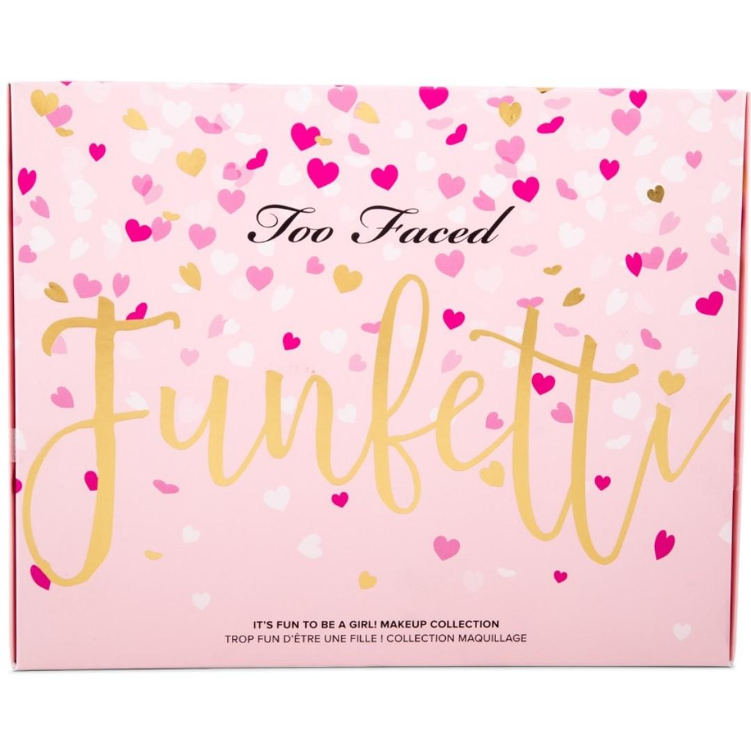 AUTHENTIC & RARE NEW Too Faced Funfetti Makeup Set - EXPRESS POST & FREE GIFTS