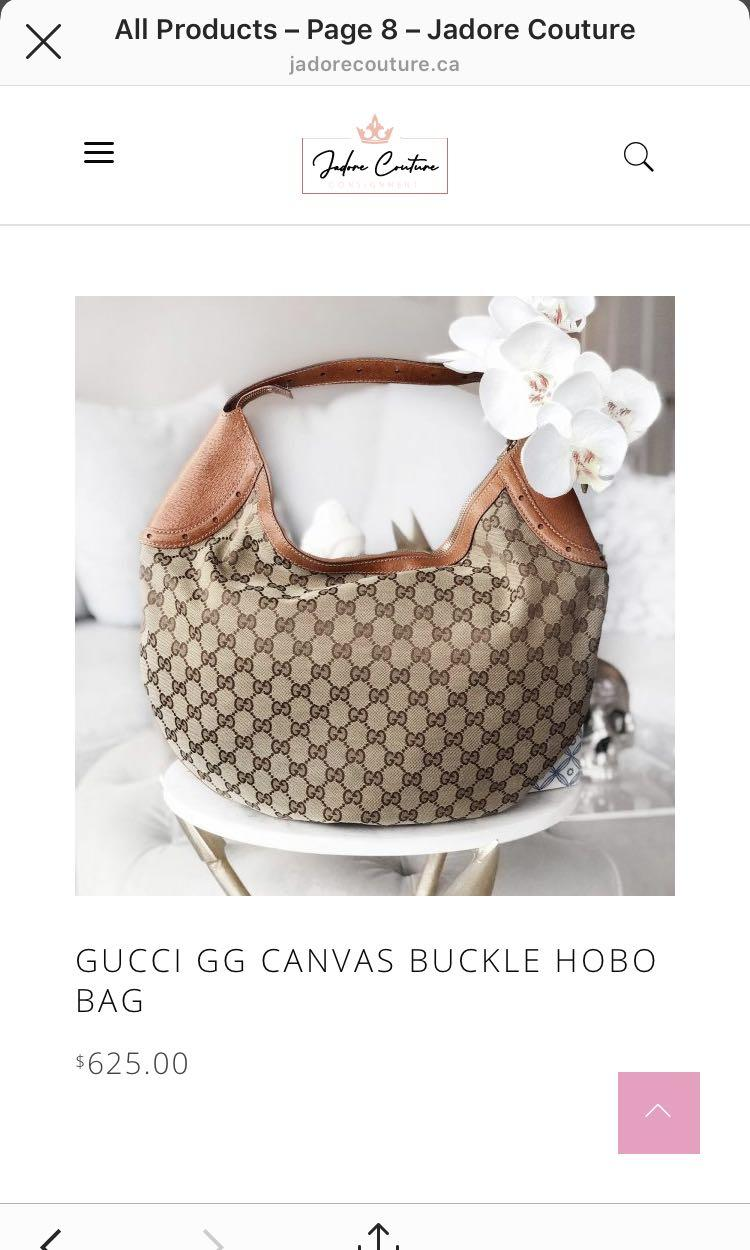 Gucci Authentic Hobo Bag