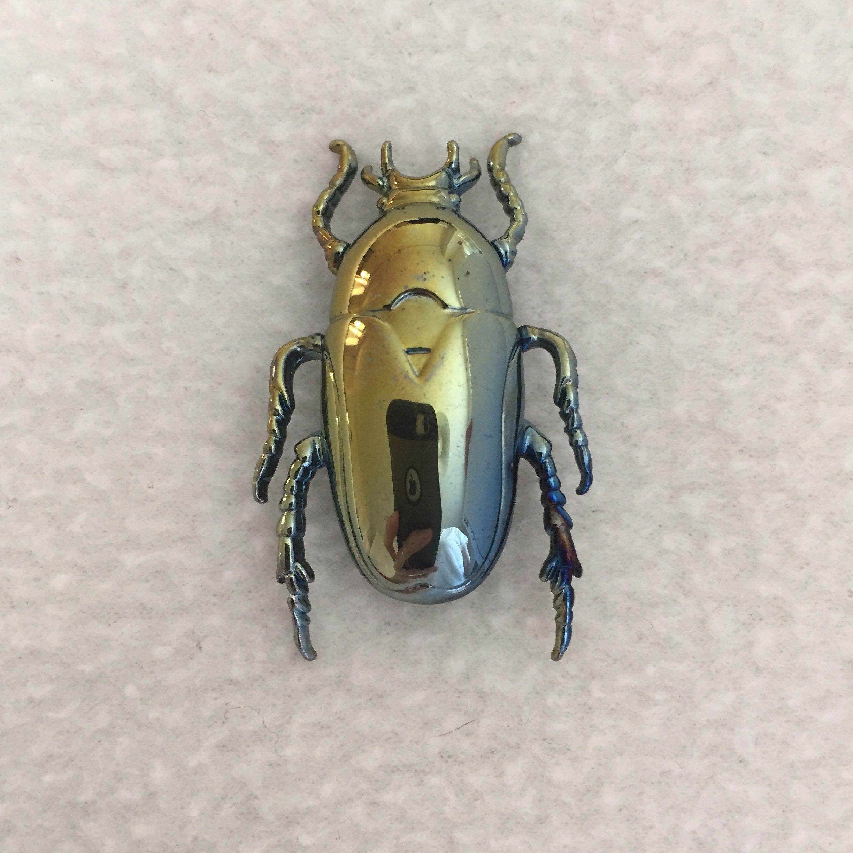 Banana Republic Beetle Brooch