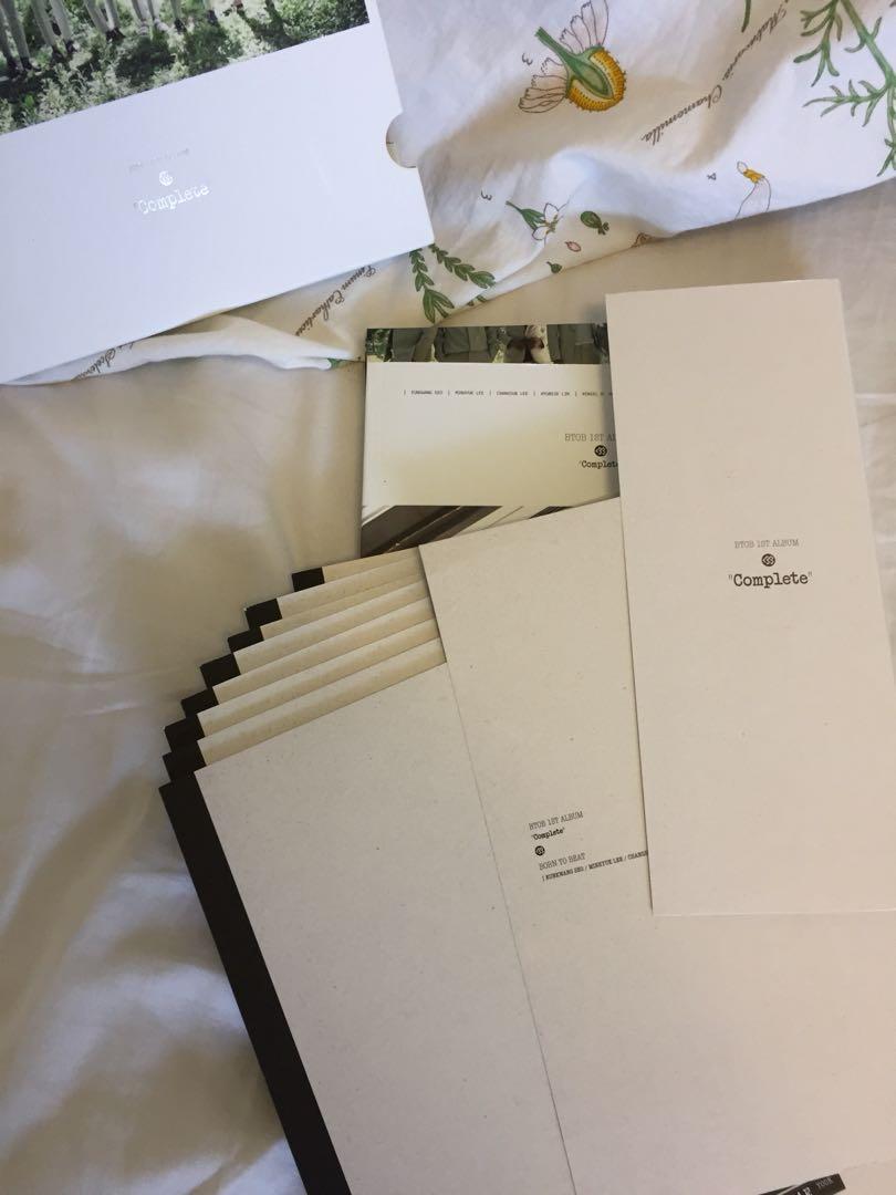 """BTOB 1st Album """"Complete"""""""