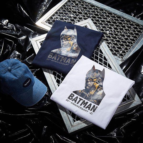 Caco 蝙蝠俠80 週年 紀念版 Tee Batman 購自台灣  (全新未著過)