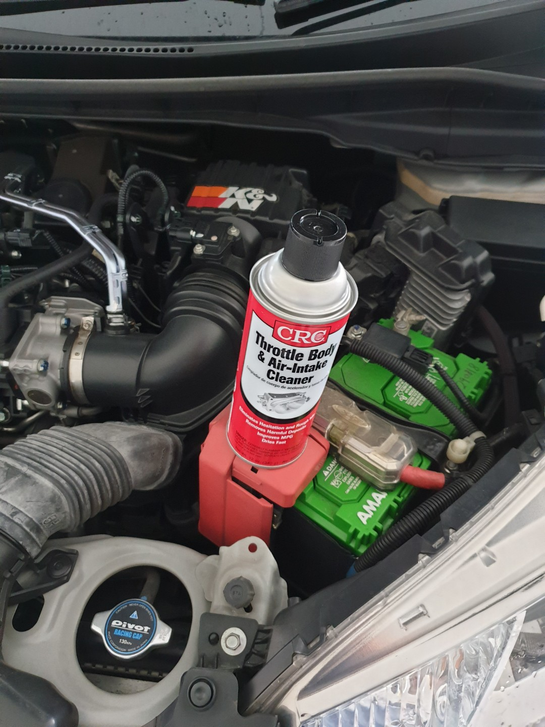 Crc Throttle Body and Air Intake Cleaner