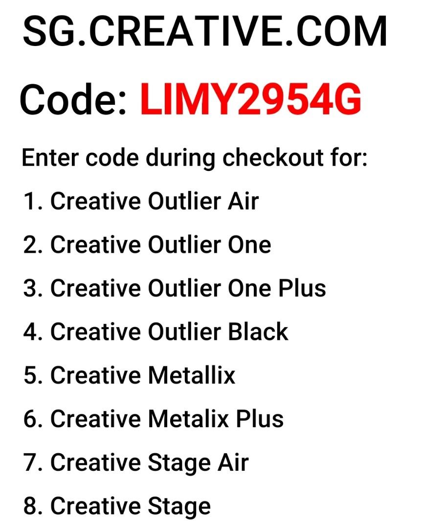 Creative Outlier Promo Code