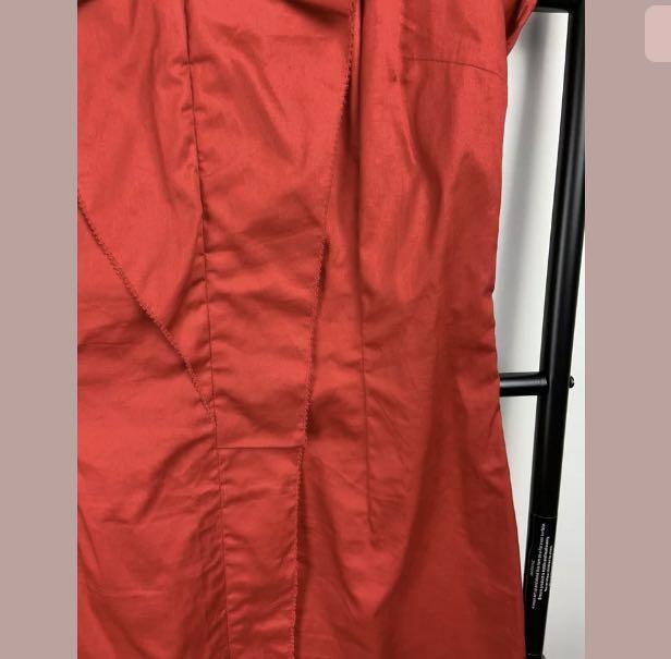 David Lawrence XS/S red sexy dress smart casual work career date night party