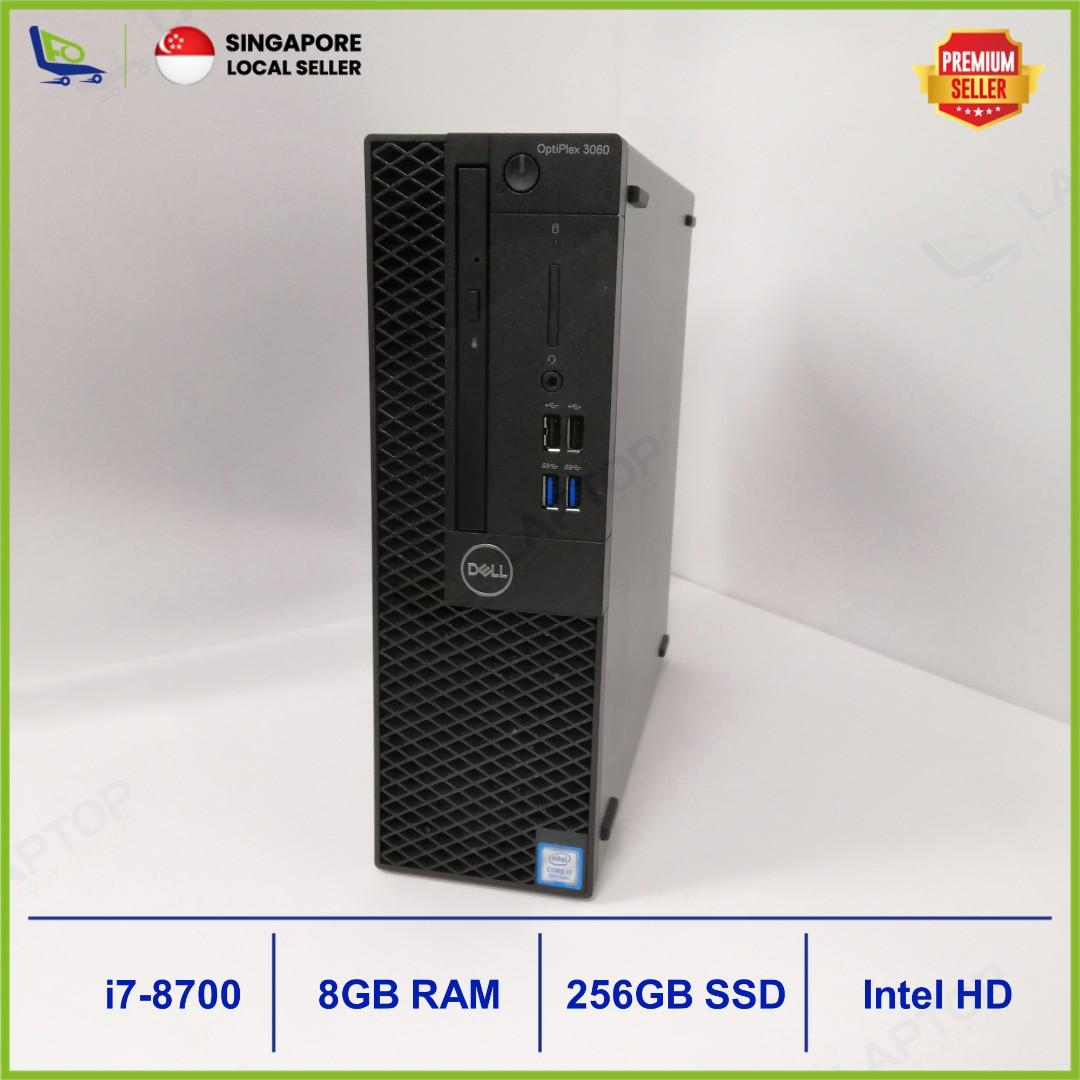 DELL Optiplex 3060 (i7-8/8GB/256B) [Premium Preowned]WNTY