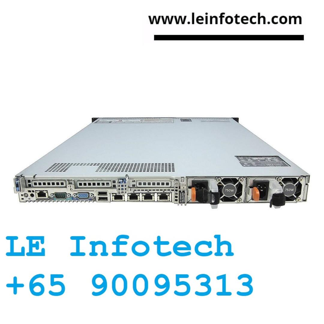 Dell Poweredge R620 Server 2x8 Cores Xeon E5-2658 2 1Ghz
