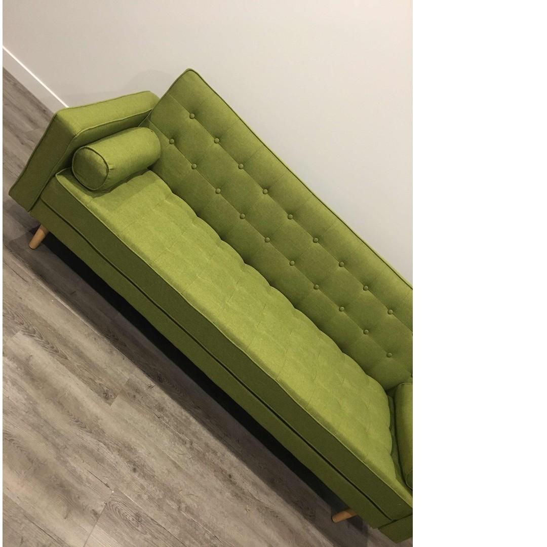 Faric Sofa Bed in (Grey/Dark Grey/ Green/ Beigh) colour at $699