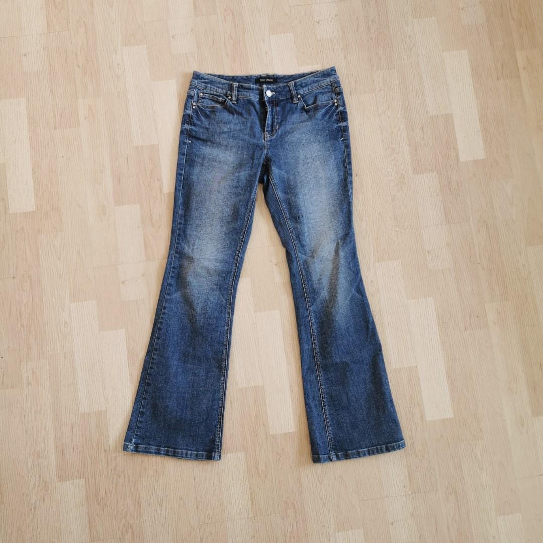 Flared Midwaist Denim Jeans