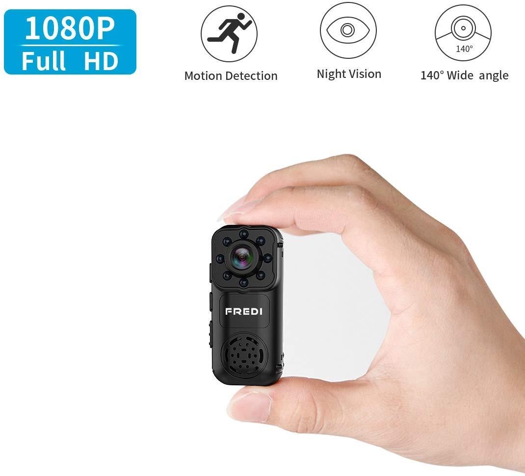 720P Hidden Spy Mini Camera Motion Detection Wireless Wifi Security Cam FREDI