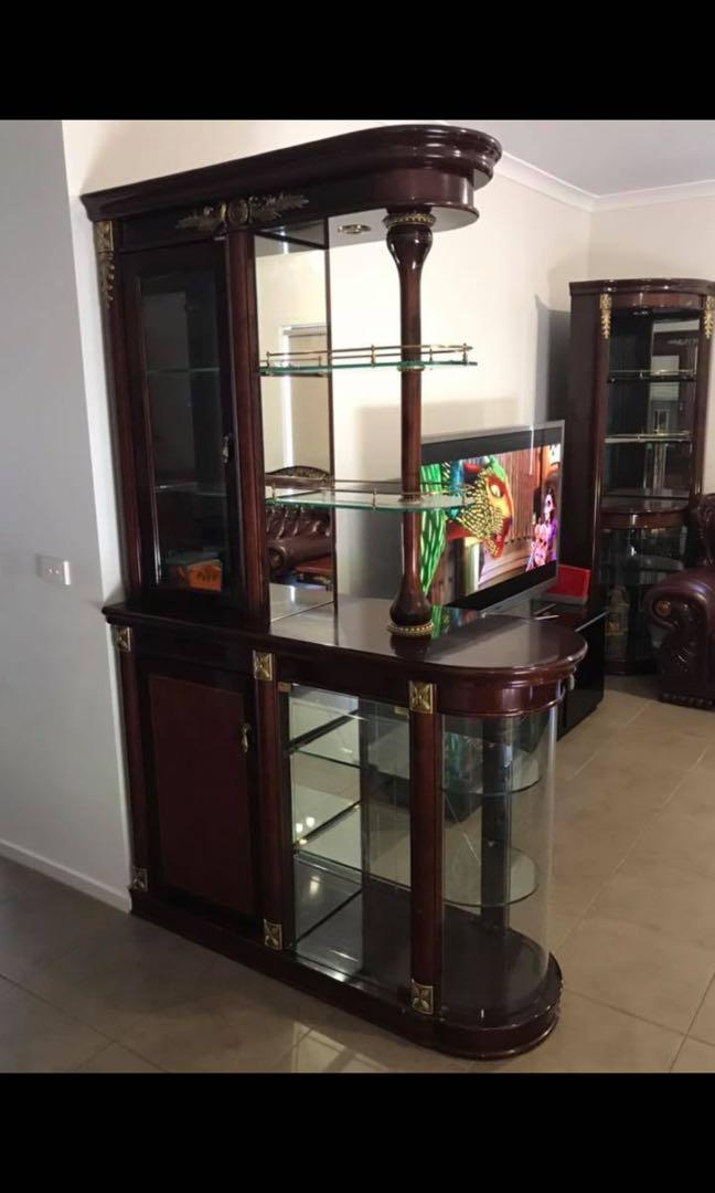 FURNITURE AUTHENTIC EUROPEAN LEATHER & MARBLE TOP LIVING & DINING FURNITURE