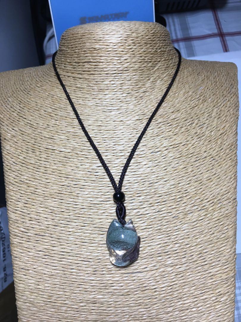 Green Phantom Fairy Fox (绿幽灵狐仙) Necklace