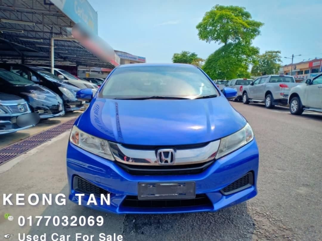 HONDA CITY 1.5AT I-Vtec E Spec🎉 FACELIFT 2014TH PushStart🚘JohorPlate🎉Low MILEAGE 6XXXXKM Cash💰OfferPrice💲Rm51,800 Only‼LowestPrice InJB🎉Call📲 Keong