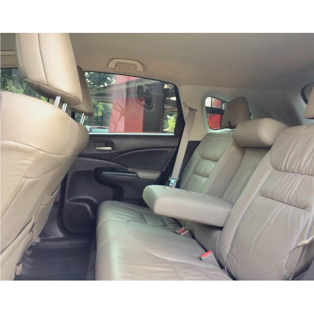 Honda CRV 2.400 CC Automatic 2013 Hitam Dp 24,9 Jt No Polisi Ganjil