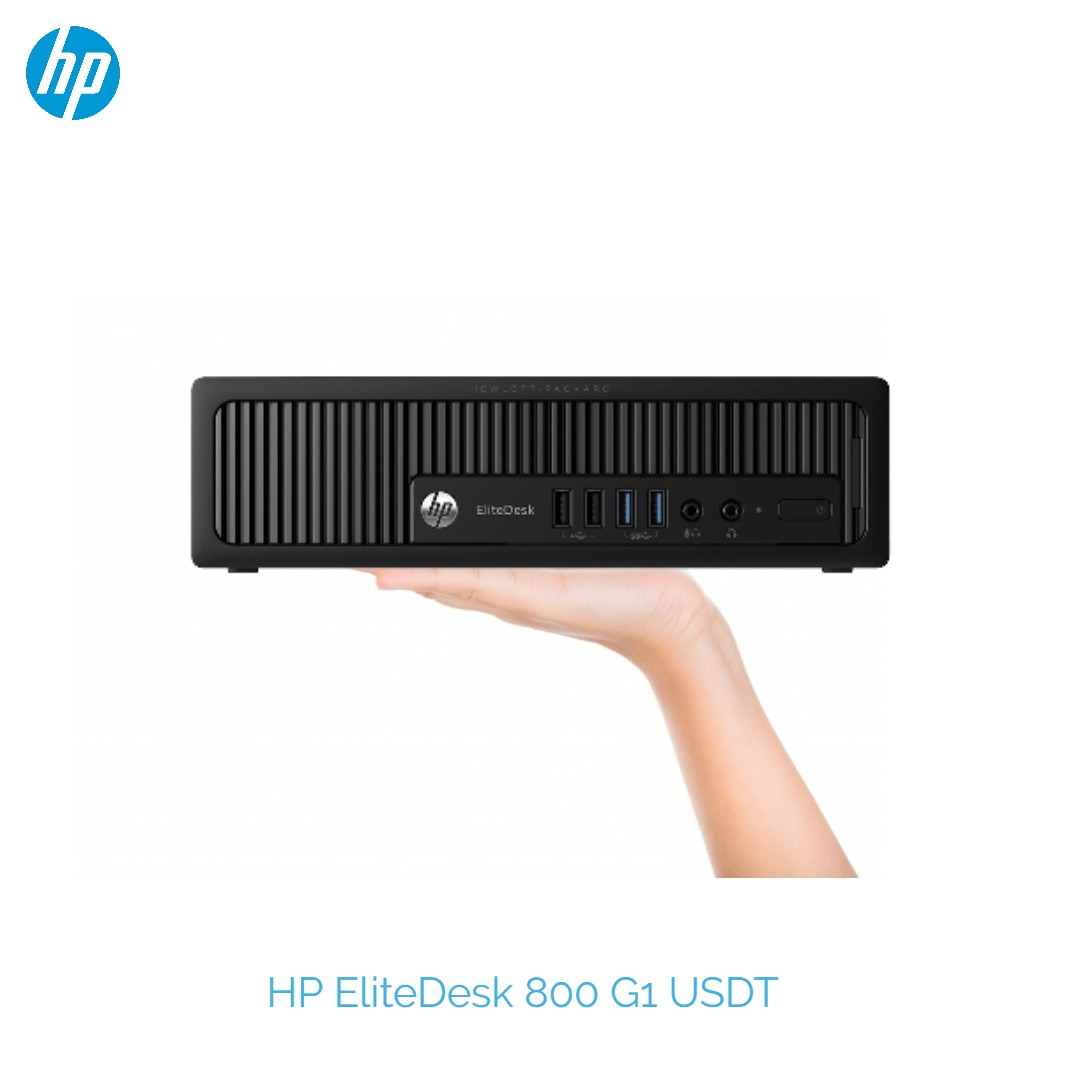 HP EliteDesk 800 G1 intel Mini PC Ultra Slim Desktop USDT PC Intel Core  i5-4570s 2 90GHz 8GB RAM 500GB HDD Win 10 Pro