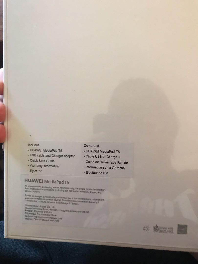 "Huawei MediaPad 10.1"" Tablet 16gb (New, Sealed in Box)"