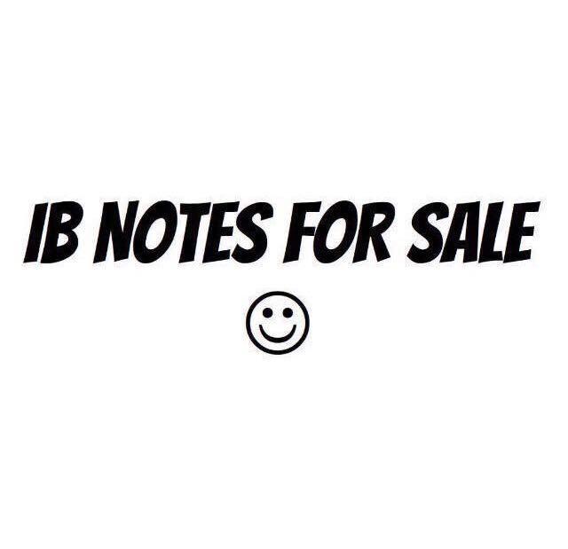 Ib Psychology New Syllabus Notes