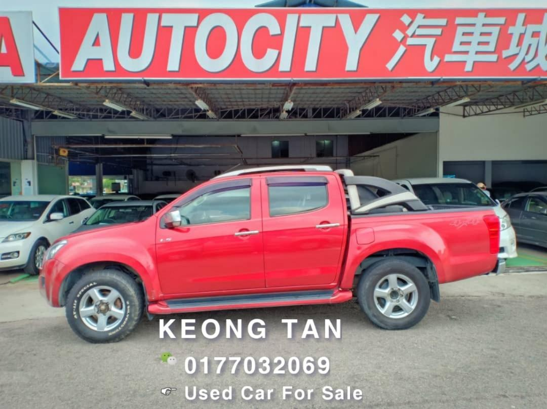 ISUZU DMAX 2.5AT DIESEL ENGINE TURBO 2013TH Cash💰OfferPrice💲Rm50,500 Only‼ Lowest Price💲InJB‼ Call📲Keong