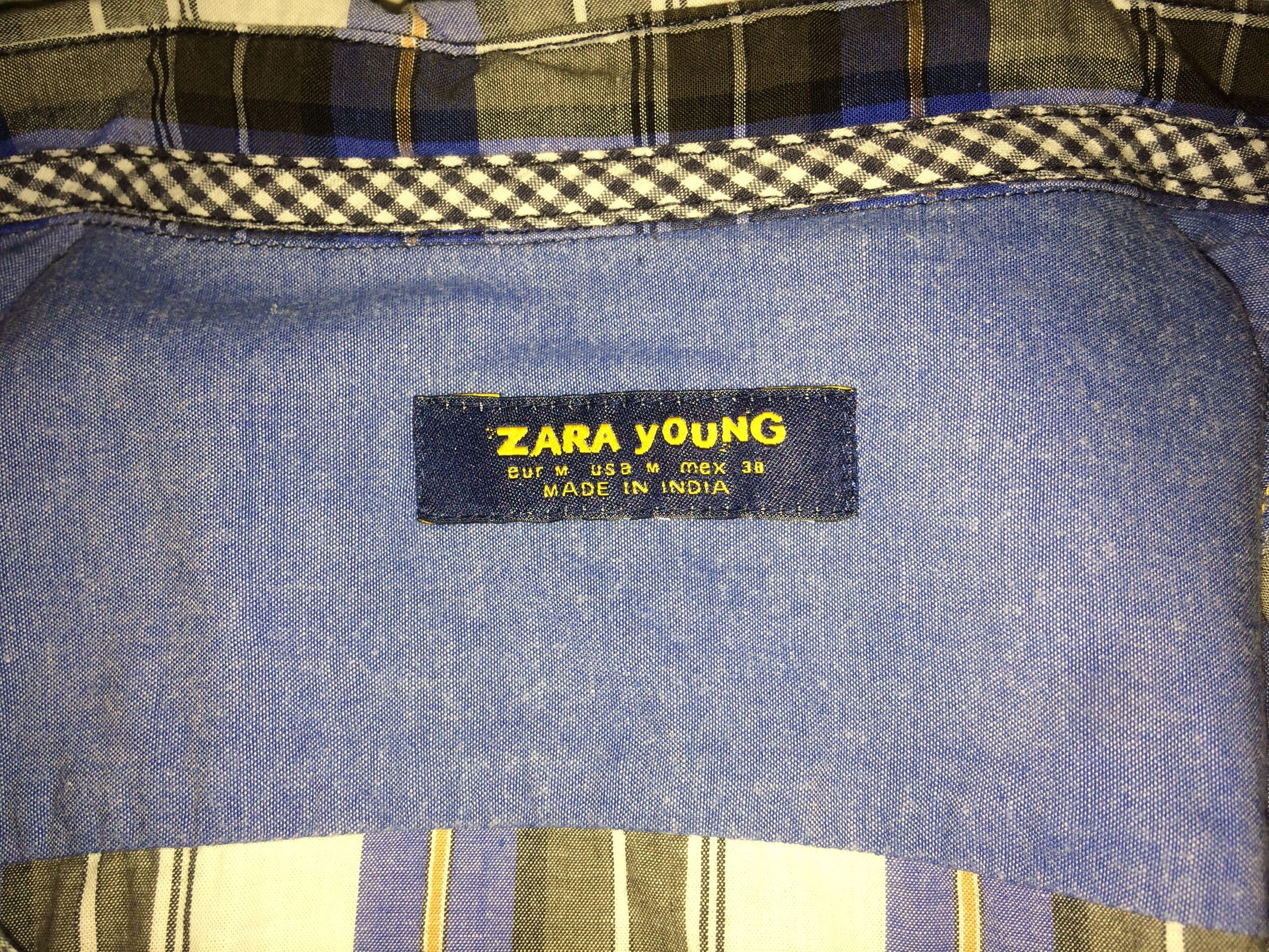 🕹Kemeja ZARA YOUNG Size M